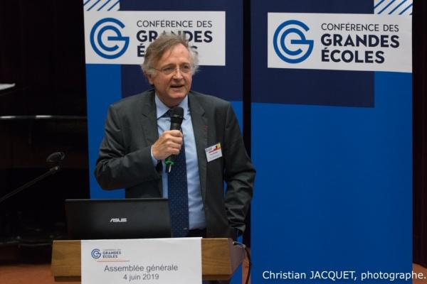 2019 06 04 CGE Assemblée générale élective. Telecom ParisTech
