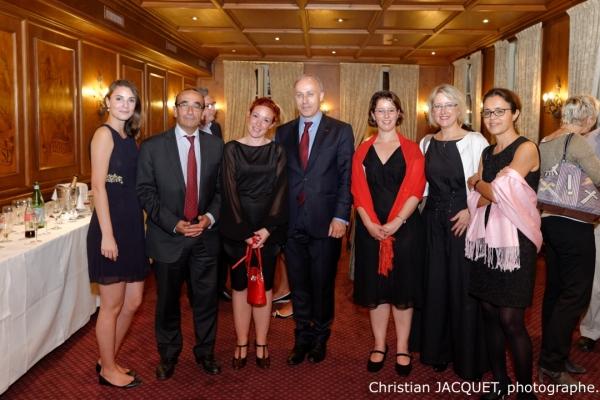 2014 10 02 CGE Congres de Strasbourg Diner de gala Maison Kammerzell