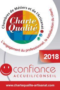 Logo électronique Charte Qualité Confiance 2018